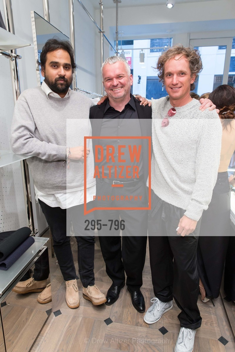 Hosain Rahman, Wilhelm Oehl, Yves Behar, MAISON MARGIELA San Francisco Boutique Grand Opening Event, US, April 24th, 2015,Drew Altizer, Drew Altizer Photography, full-service event agency, private events, San Francisco photographer, photographer California