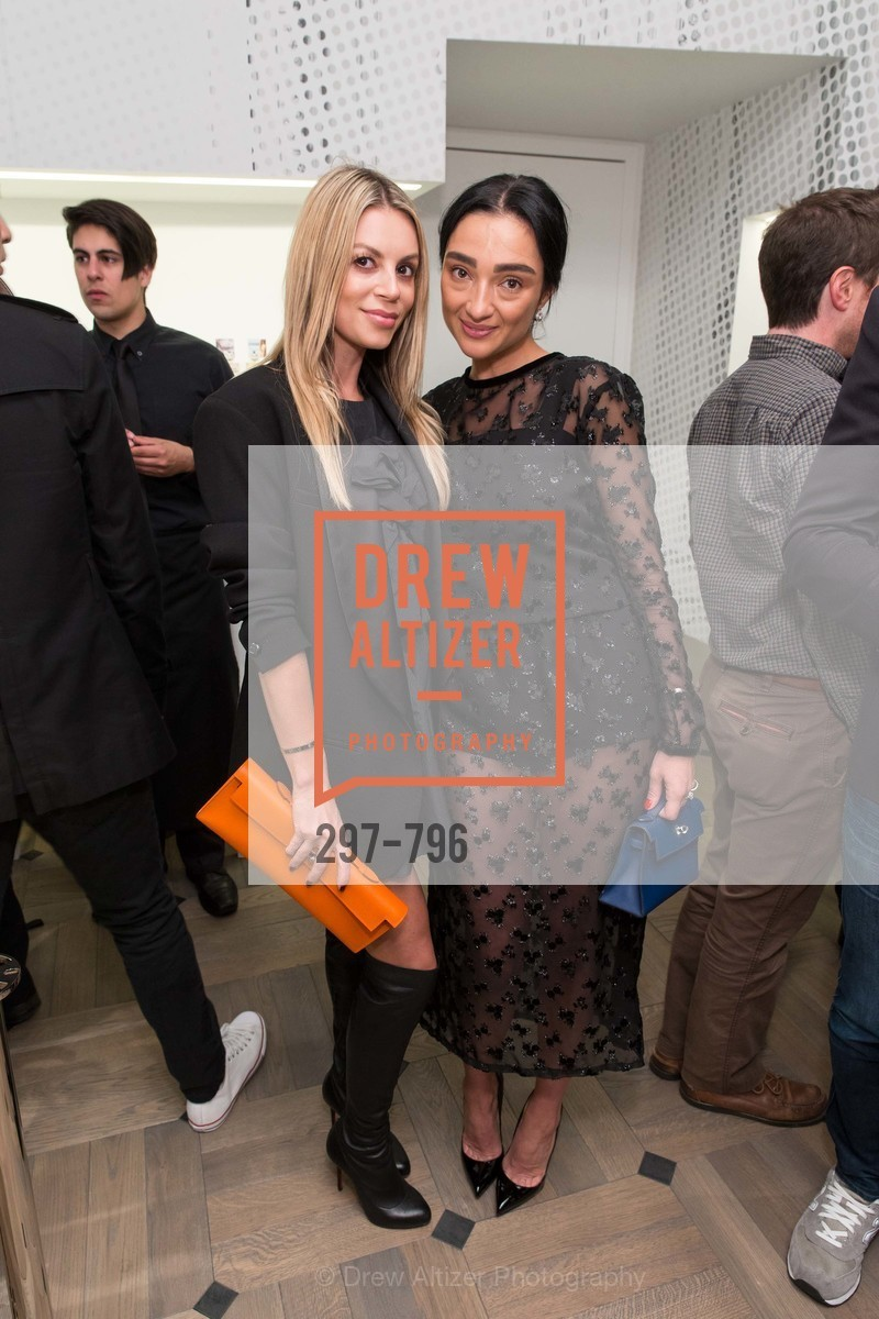 Lana Kaminsky, Olya Dzilikhova, MAISON MARGIELA San Francisco Boutique Grand Opening Event, US, April 24th, 2015,Drew Altizer, Drew Altizer Photography, full-service event agency, private events, San Francisco photographer, photographer California