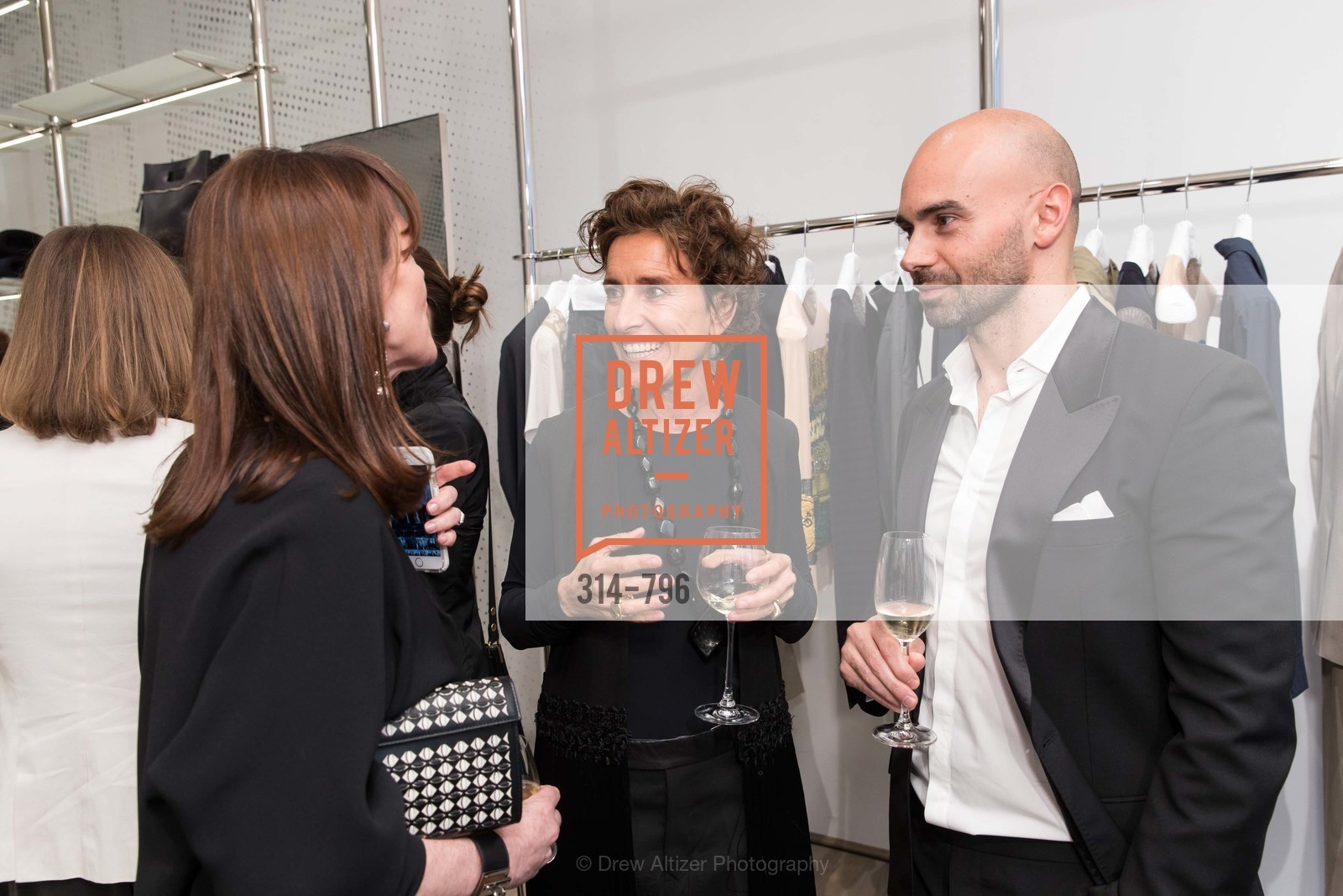 Allison Speer, Monica Voltolina, Matteo Comunalazzi, MAISON MARGIELA San Francisco Boutique Grand Opening Event, US, April 24th, 2015,Drew Altizer, Drew Altizer Photography, full-service agency, private events, San Francisco photographer, photographer california