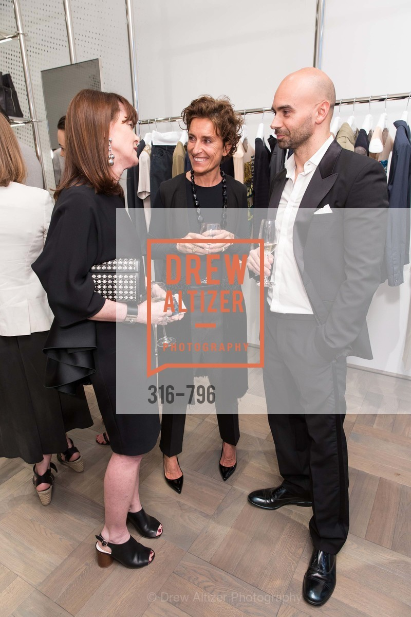 Allison Speer, Monica Voltolina, Matteo Comunalazzi, MAISON MARGIELA San Francisco Boutique Grand Opening Event, US, April 23rd, 2015,Drew Altizer, Drew Altizer Photography, full-service agency, private events, San Francisco photographer, photographer california