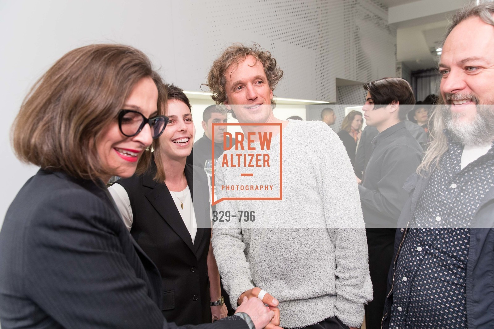 Sarah Thornton, Jessica Siverman, Yves Behar, Rich Hansen, MAISON MARGIELA San Francisco Boutique Grand Opening Event, US, April 23rd, 2015,Drew Altizer, Drew Altizer Photography, full-service agency, private events, San Francisco photographer, photographer california