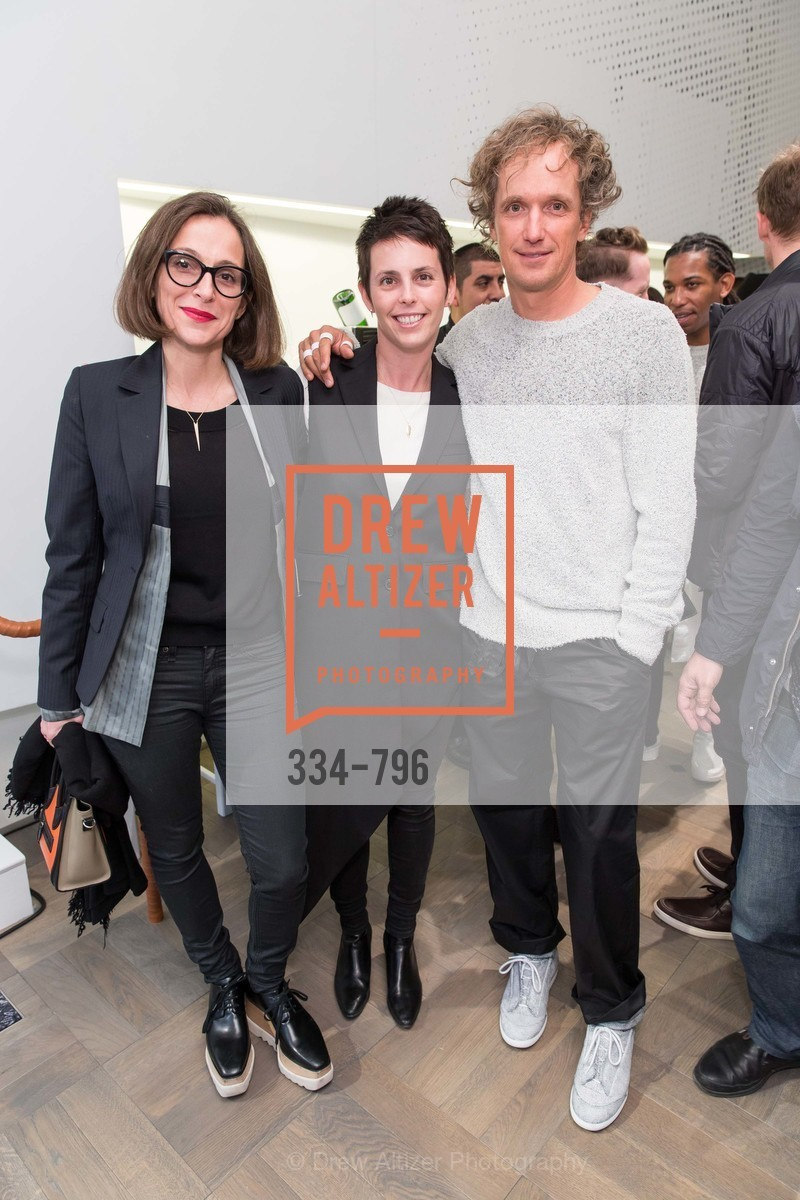Sarah Thornton, Jessica Siverman, Yves Behar, MAISON MARGIELA San Francisco Boutique Grand Opening Event, US, April 24th, 2015,Drew Altizer, Drew Altizer Photography, full-service agency, private events, San Francisco photographer, photographer california