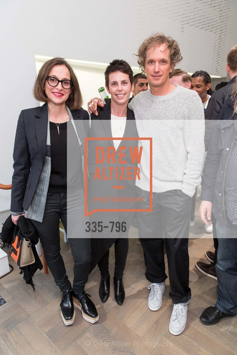 Sarah Thornton, Jessica Siverman, Yves Behar, MAISON MARGIELA San Francisco Boutique Grand Opening Event, US, April 23rd, 2015,Drew Altizer, Drew Altizer Photography, full-service agency, private events, San Francisco photographer, photographer california