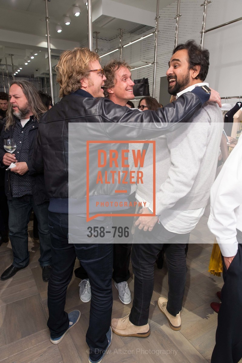 Rico Zorkendorfer, Yves Behar, Hosain Rahman, MAISON MARGIELA San Francisco Boutique Grand Opening Event, US, April 23rd, 2015,Drew Altizer, Drew Altizer Photography, full-service agency, private events, San Francisco photographer, photographer california