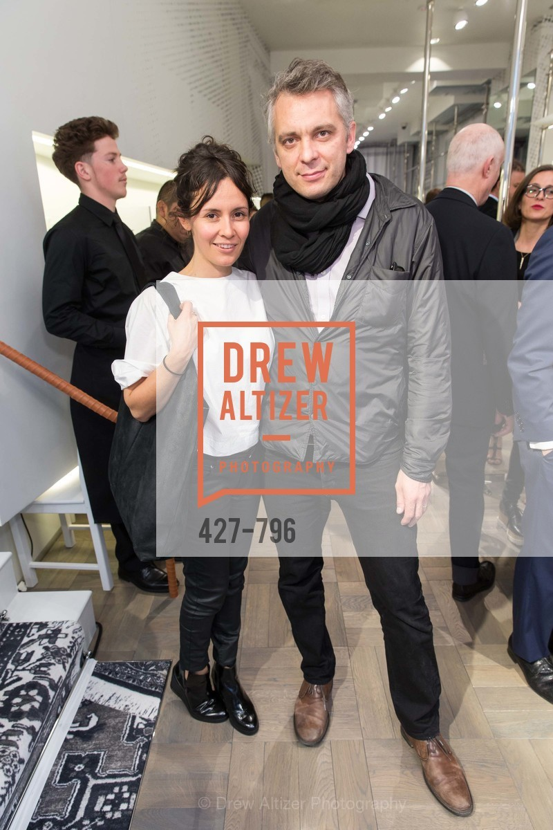 Juana Berrio, Anthony Huberman, MAISON MARGIELA San Francisco Boutique Grand Opening Event, US, April 24th, 2015,Drew Altizer, Drew Altizer Photography, full-service agency, private events, San Francisco photographer, photographer california