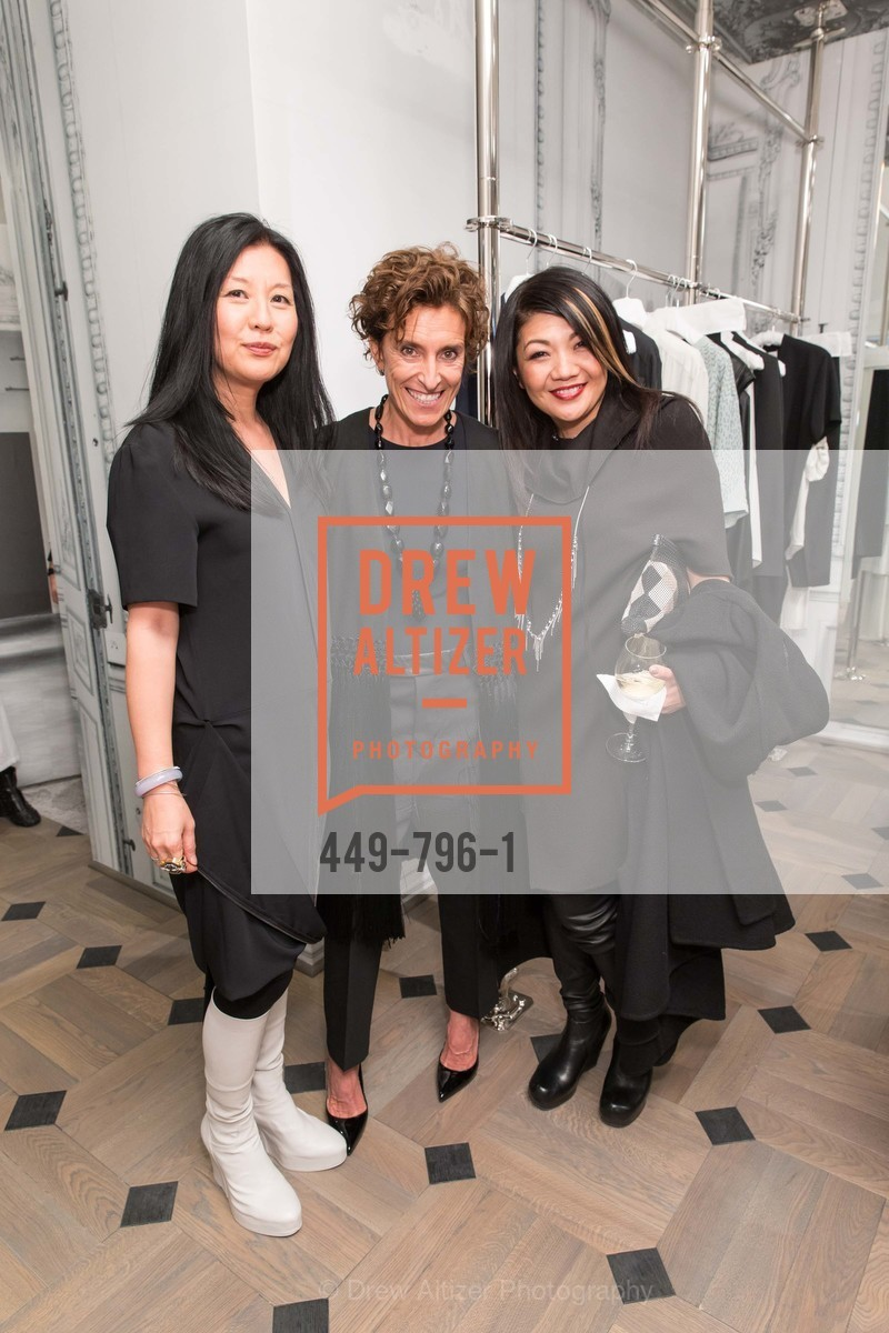 Michelle Min, Monica Voltolina, Betty Lin, MAISON MARGIELA San Francisco Boutique Grand Opening Event, US, April 23rd, 2015,Drew Altizer, Drew Altizer Photography, full-service agency, private events, San Francisco photographer, photographer california