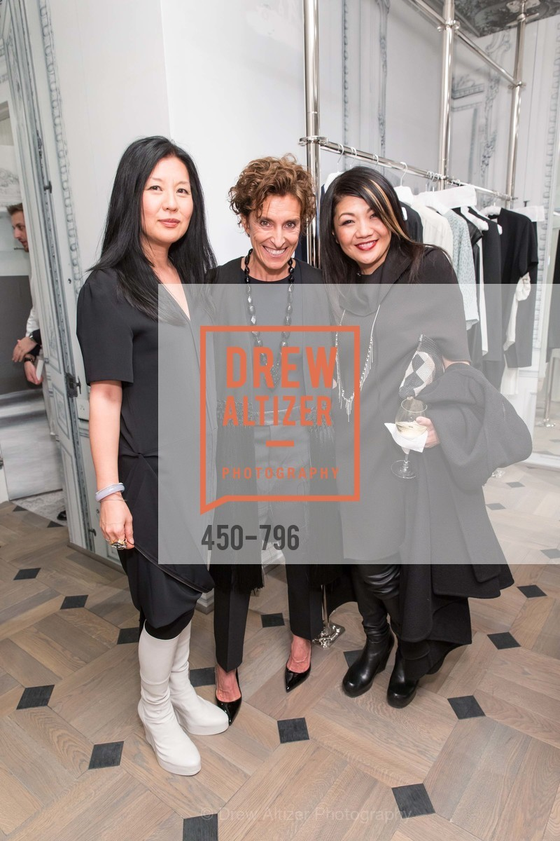 Michelle Min, Monica Voltolina, Betty Lin, MAISON MARGIELA San Francisco Boutique Grand Opening Event, US, April 24th, 2015,Drew Altizer, Drew Altizer Photography, full-service event agency, private events, San Francisco photographer, photographer California