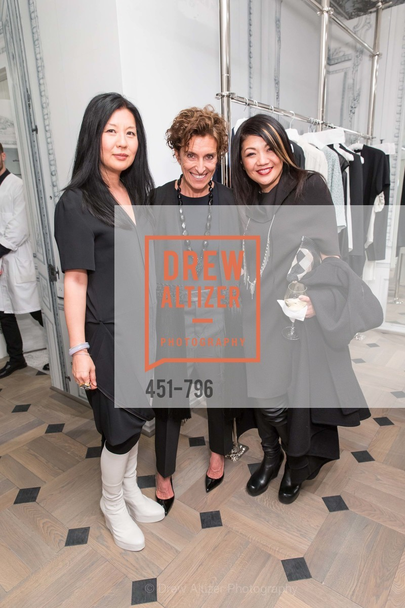Michelle Min, Monica Voltolina, Betty Lin, MAISON MARGIELA San Francisco Boutique Grand Opening Event, US, April 24th, 2015,Drew Altizer, Drew Altizer Photography, full-service agency, private events, San Francisco photographer, photographer california