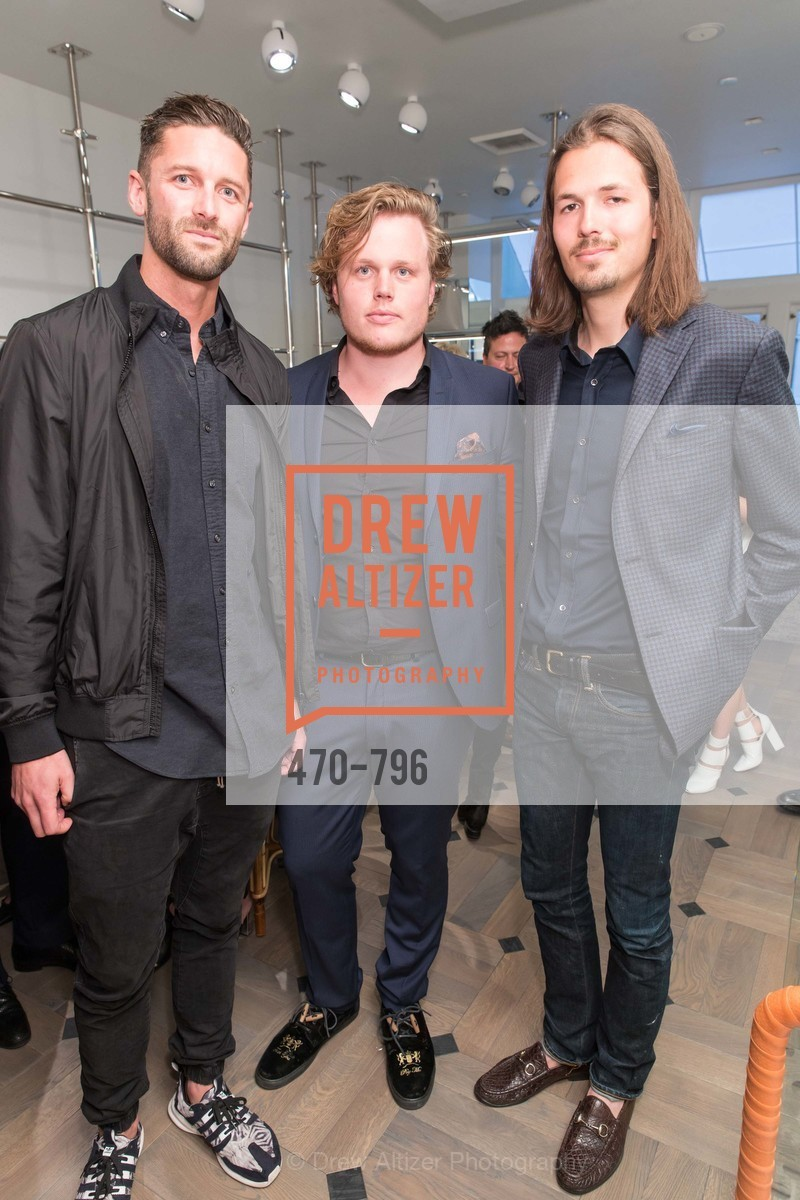 Bobby Rasmussen, Frederik Christensen, Klaus Rabnholt, MAISON MARGIELA San Francisco Boutique Grand Opening Event, US, April 23rd, 2015,Drew Altizer, Drew Altizer Photography, full-service agency, private events, San Francisco photographer, photographer california