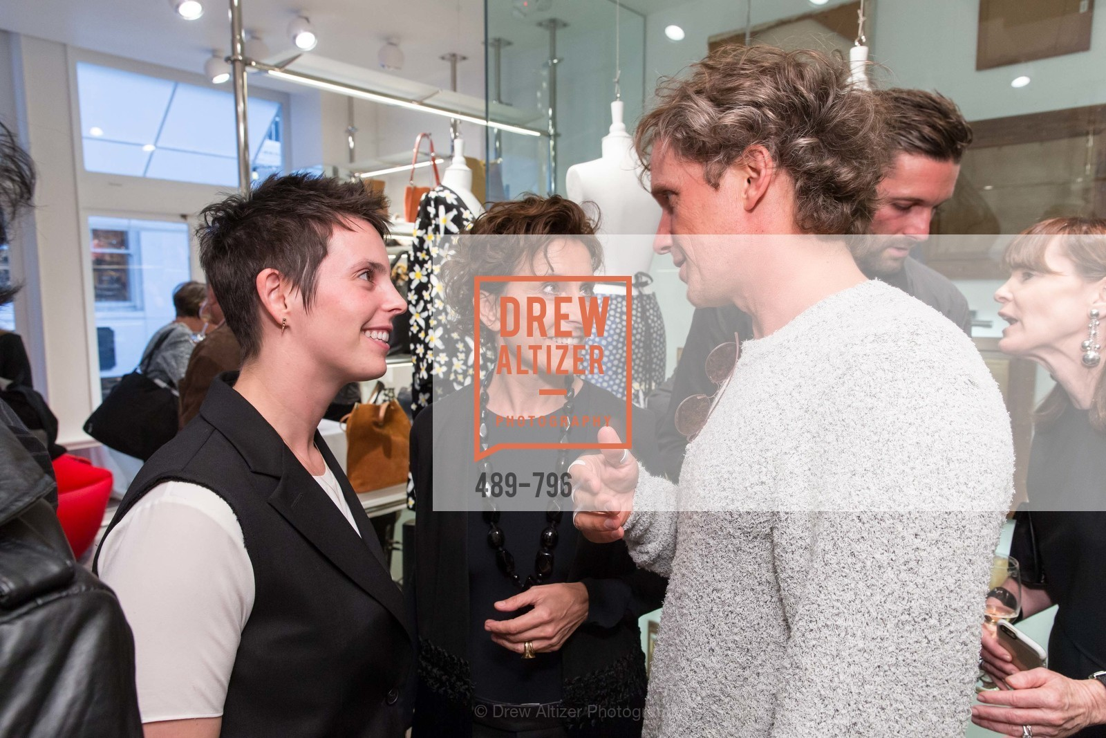 Jessica Silverman, Monica Voltolina, Yves Behar, MAISON MARGIELA San Francisco Boutique Grand Opening Event, US, April 24th, 2015,Drew Altizer, Drew Altizer Photography, full-service agency, private events, San Francisco photographer, photographer california