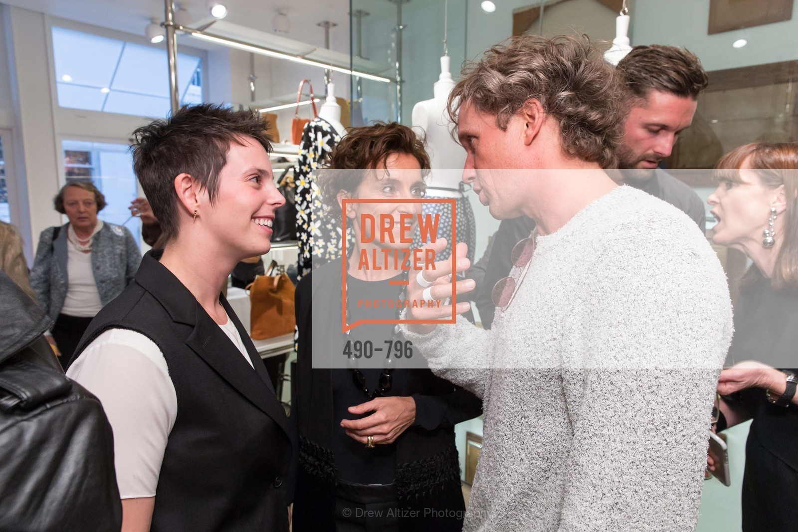 Jessica Silverman, Monica Voltolina, Yves Behar, MAISON MARGIELA San Francisco Boutique Grand Opening Event, US, April 24th, 2015,Drew Altizer, Drew Altizer Photography, full-service event agency, private events, San Francisco photographer, photographer California
