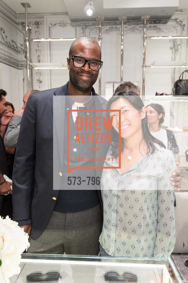 Randy Wells, Jennifer Chan, MAISON MARGIELA San Francisco Boutique Grand Opening Event, US, April 24th, 2015,Drew Altizer, Drew Altizer Photography, full-service agency, private events, San Francisco photographer, photographer california