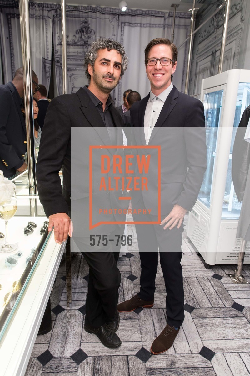 Amir Mortazavi, Ross Warren, MAISON MARGIELA San Francisco Boutique Grand Opening Event, US, April 23rd, 2015,Drew Altizer, Drew Altizer Photography, full-service agency, private events, San Francisco photographer, photographer california