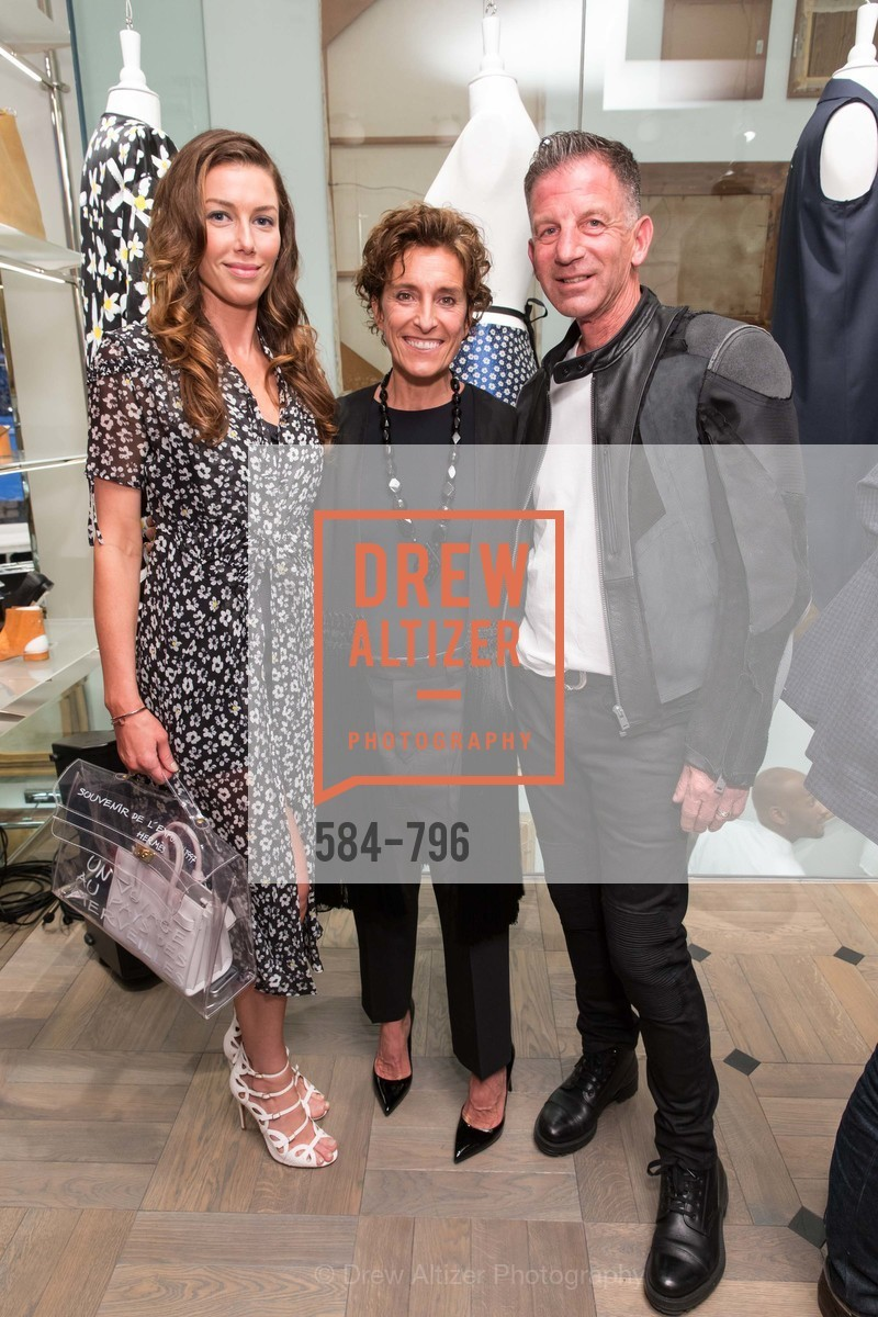 Sarah Somberg, Monica Voltalina, Brad Somberg, MAISON MARGIELA San Francisco Boutique Grand Opening Event, US, April 24th, 2015,Drew Altizer, Drew Altizer Photography, full-service agency, private events, San Francisco photographer, photographer california