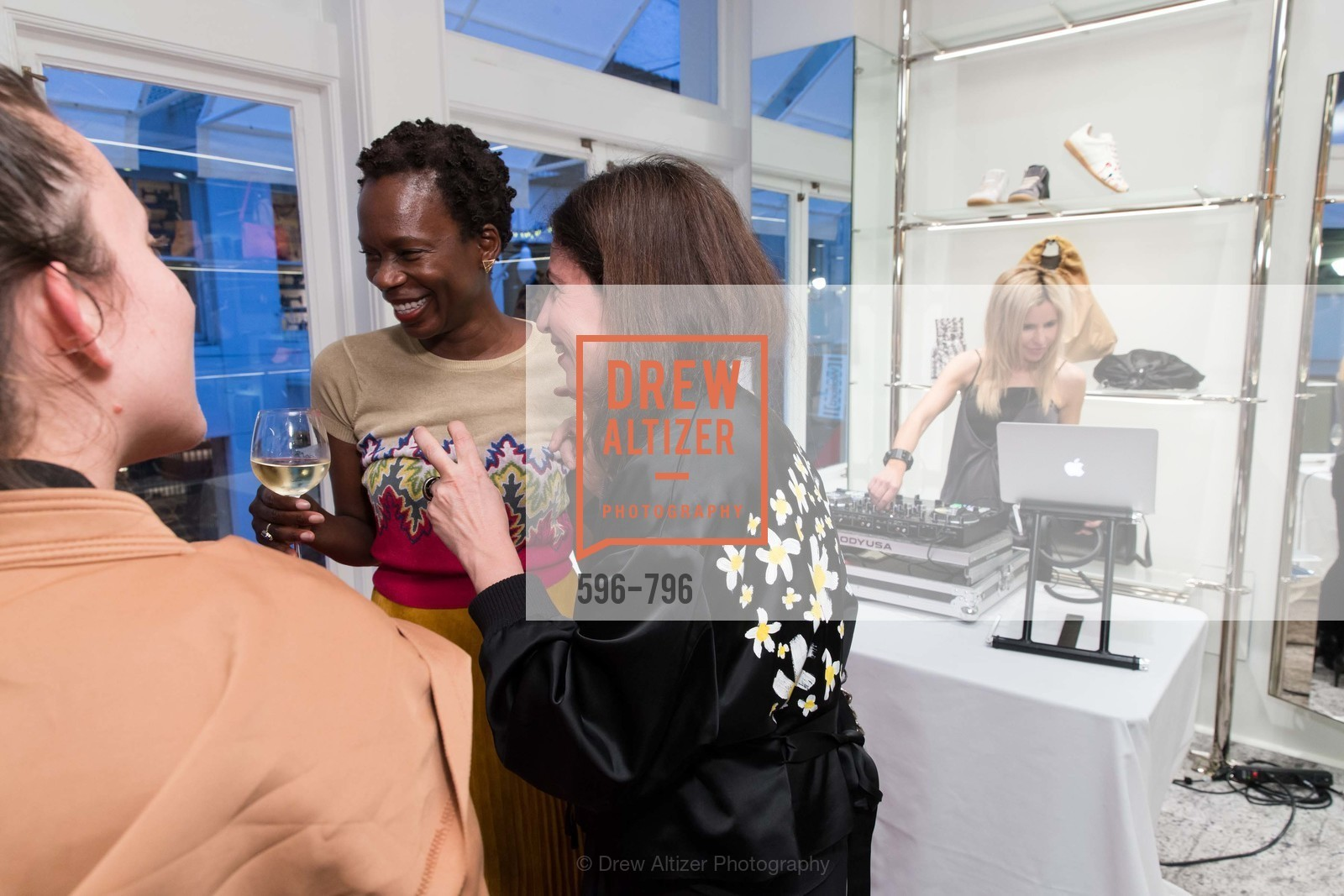 Lola Oladunjoye, Laura Giulini, Lana Adair, MAISON MARGIELA San Francisco Boutique Grand Opening Event, US, April 24th, 2015,Drew Altizer, Drew Altizer Photography, full-service agency, private events, San Francisco photographer, photographer california