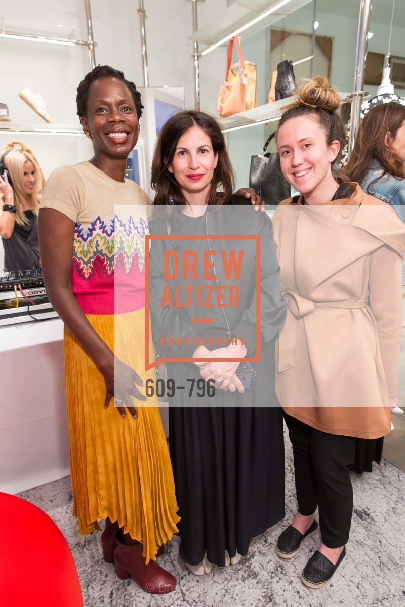 Lola Oladunjoye, Laura Giulini, Iris Kornbluth, MAISON MARGIELA San Francisco Boutique Grand Opening Event, US, April 24th, 2015,Drew Altizer, Drew Altizer Photography, full-service event agency, private events, San Francisco photographer, photographer California