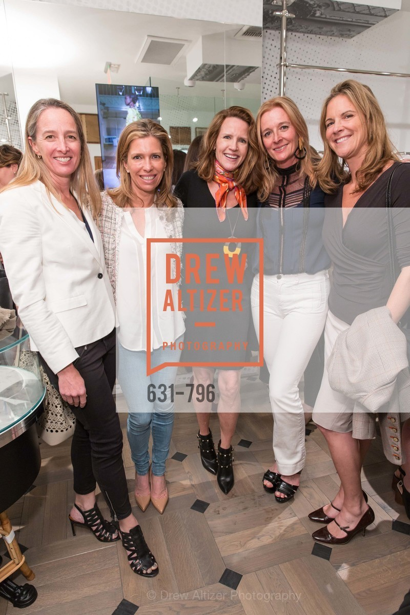 Tessa McMillan, Christine Aylward, Barbara Vaughn Hoimes, Tricia Sellman, Lisa Dolby Chadwick, MAISON MARGIELA San Francisco Boutique Grand Opening Event, US, April 24th, 2015,Drew Altizer, Drew Altizer Photography, full-service agency, private events, San Francisco photographer, photographer california
