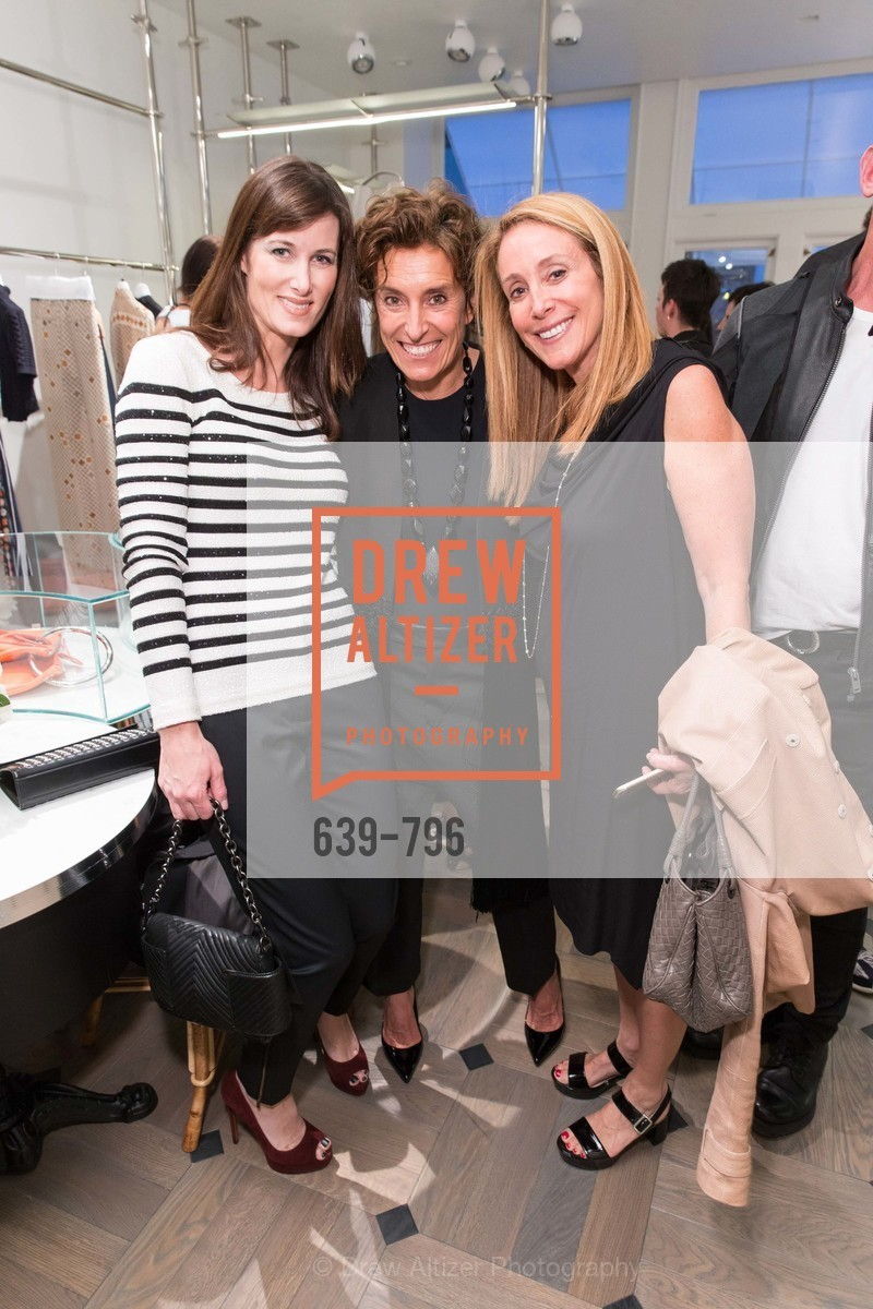 Jeannine Christofilis, Monica Voltolina, Stacey Winston Levitan, MAISON MARGIELA San Francisco Boutique Grand Opening Event, US, April 24th, 2015,Drew Altizer, Drew Altizer Photography, full-service agency, private events, San Francisco photographer, photographer california