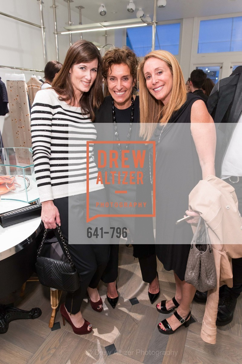 Jeannine Christofilis, Monica Voltolina, Stacey Winston Levitan, MAISON MARGIELA San Francisco Boutique Grand Opening Event, US, April 23rd, 2015,Drew Altizer, Drew Altizer Photography, full-service agency, private events, San Francisco photographer, photographer california