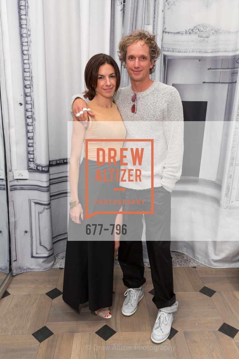 Sabrina Buell, Yves Behar, MAISON MARGIELA San Francisco Boutique Grand Opening Event, US, April 24th, 2015,Drew Altizer, Drew Altizer Photography, full-service agency, private events, San Francisco photographer, photographer california