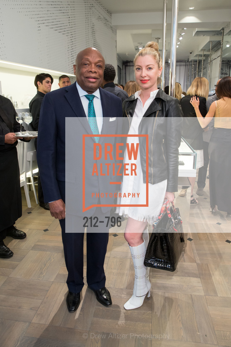 Willie Brown, Sonya Molodetskaya, MAISON MARGIELA San Francisco Boutique Grand Opening Event, US, April 23rd, 2015,Drew Altizer, Drew Altizer Photography, full-service agency, private events, San Francisco photographer, photographer california