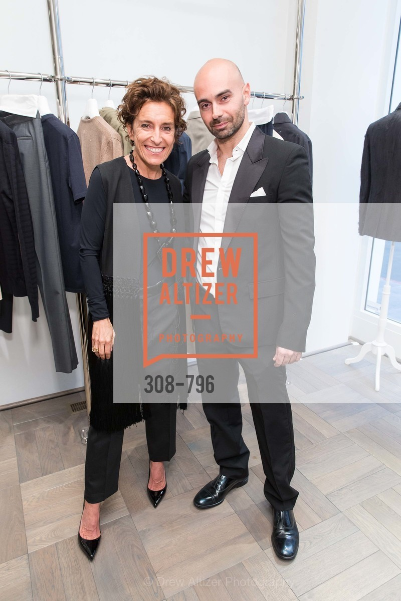 Monica Voltolina, Matteo Comunalazzi, MAISON MARGIELA San Francisco Boutique Grand Opening Event, US, April 24th, 2015,Drew Altizer, Drew Altizer Photography, full-service agency, private events, San Francisco photographer, photographer california