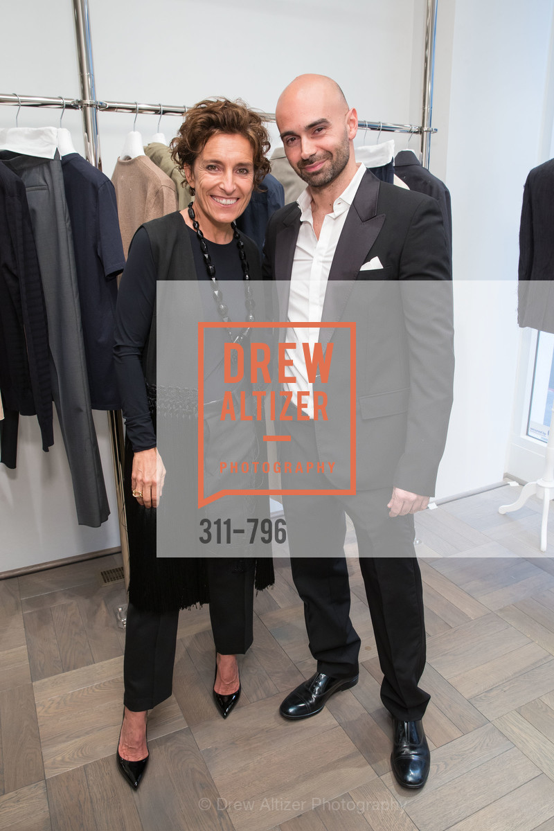 Monica Voltolina, Matteo Comunalazzi, MAISON MARGIELA San Francisco Boutique Grand Opening Event, US, April 23rd, 2015,Drew Altizer, Drew Altizer Photography, full-service agency, private events, San Francisco photographer, photographer california