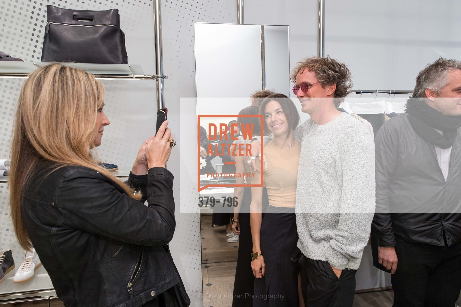 Carolyne Zinko, Sabrina Buell, Yves Behar, MAISON MARGIELA San Francisco Boutique Grand Opening Event, US, April 24th, 2015,Drew Altizer, Drew Altizer Photography, full-service agency, private events, San Francisco photographer, photographer california