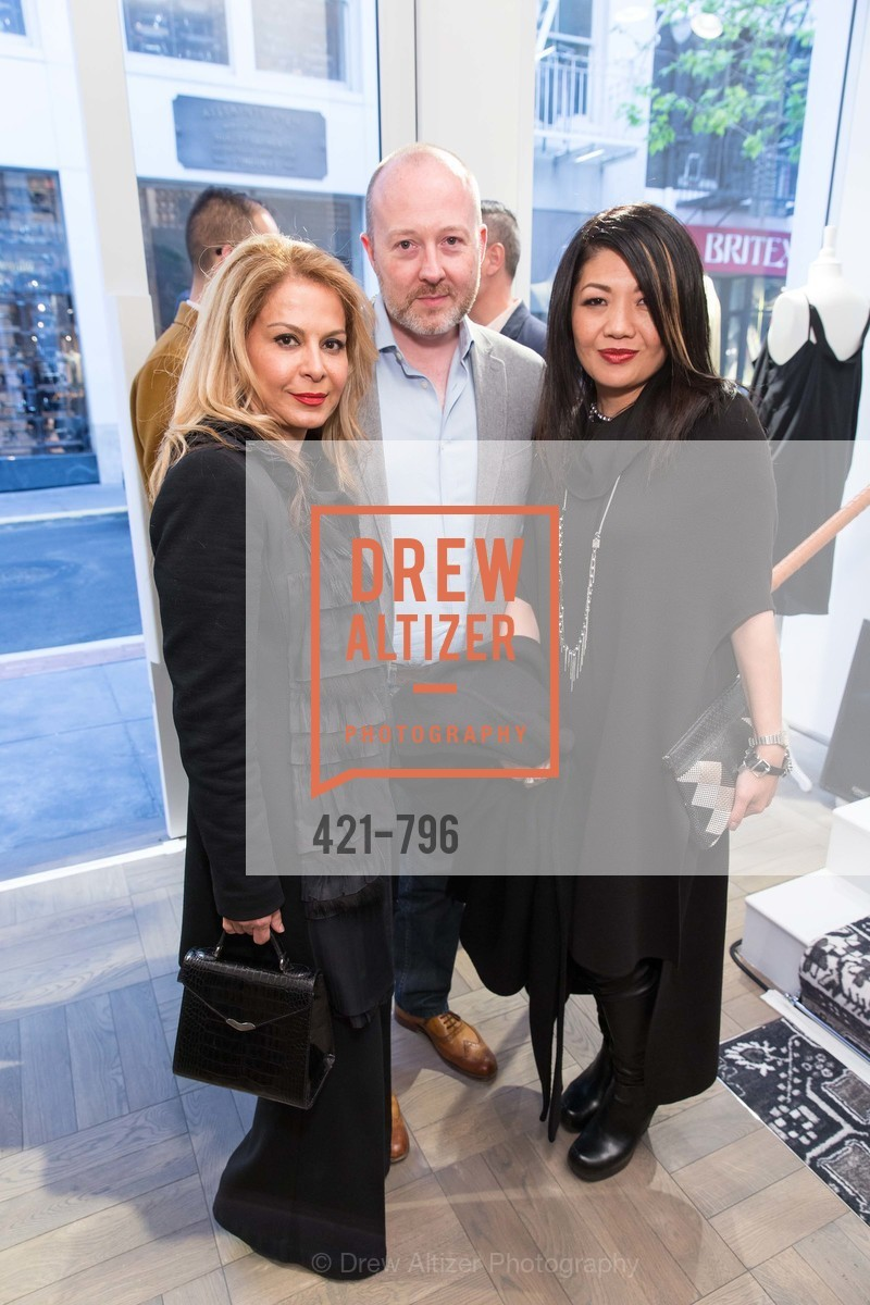 Lazan Mozasar, Philip Patterson, Betty Lin, MAISON MARGIELA San Francisco Boutique Grand Opening Event, US, April 23rd, 2015,Drew Altizer, Drew Altizer Photography, full-service agency, private events, San Francisco photographer, photographer california