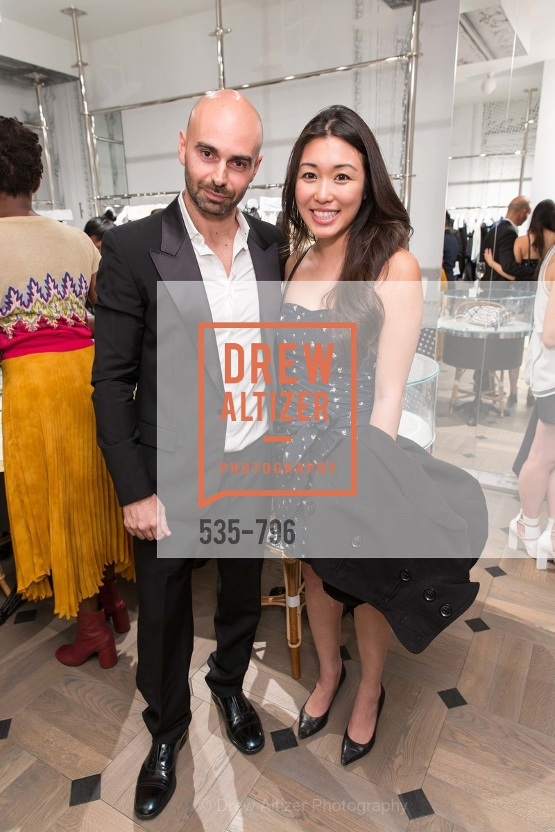 Matteo Comunalazzi, Lily Xu, MAISON MARGIELA San Francisco Boutique Grand Opening Event, US, April 24th, 2015,Drew Altizer, Drew Altizer Photography, full-service agency, private events, San Francisco photographer, photographer california