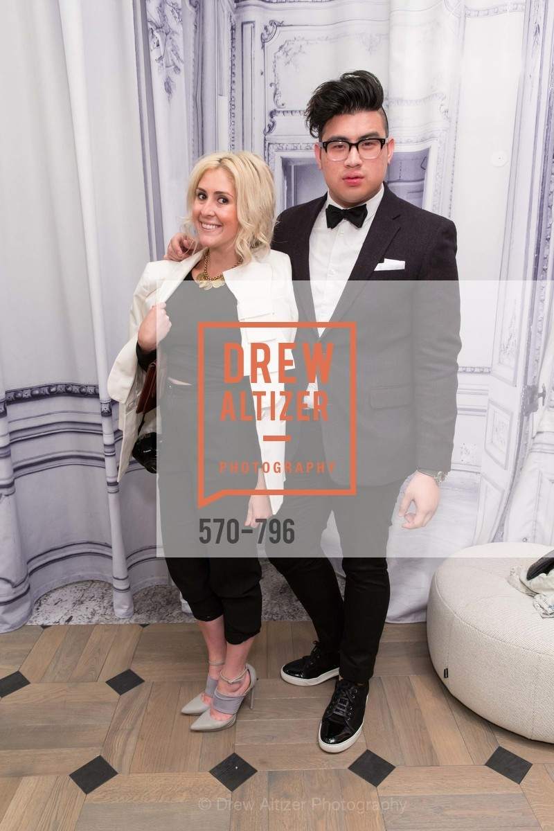 Kathleen Ensign, Allen Sales, MAISON MARGIELA San Francisco Boutique Grand Opening Event, US, April 24th, 2015,Drew Altizer, Drew Altizer Photography, full-service agency, private events, San Francisco photographer, photographer california