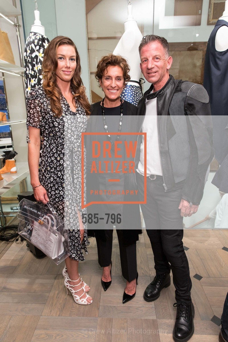 Sarah Somberg, Monica Voltalina, Brad Somberg, MAISON MARGIELA San Francisco Boutique Grand Opening Event, US, April 23rd, 2015,Drew Altizer, Drew Altizer Photography, full-service agency, private events, San Francisco photographer, photographer california