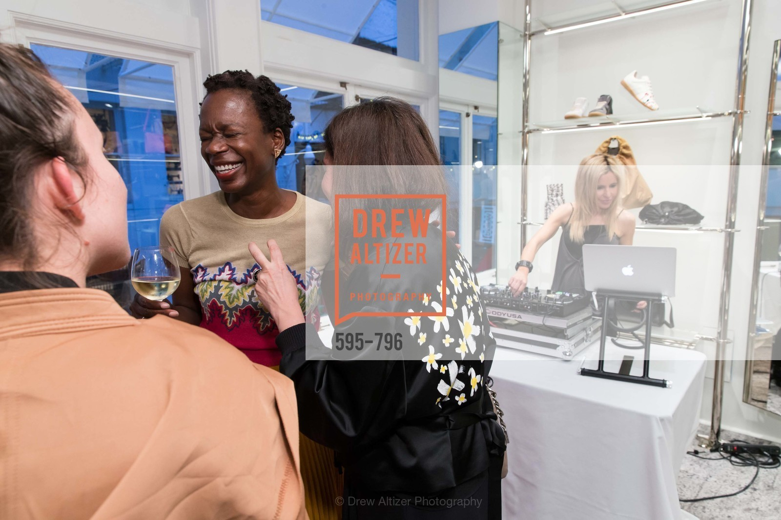Lola Oladunjoye, Laura Giulini, Lana Adair, MAISON MARGIELA San Francisco Boutique Grand Opening Event, US, April 24th, 2015,Drew Altizer, Drew Altizer Photography, full-service event agency, private events, San Francisco photographer, photographer California