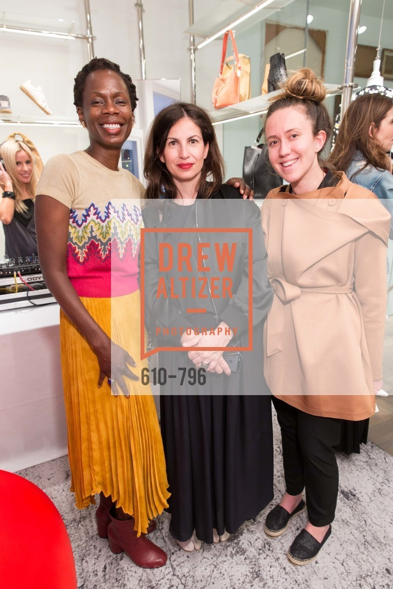 Lola Oladunjoye, Laura Giulini, Iris Kornbluth, MAISON MARGIELA San Francisco Boutique Grand Opening Event, US, April 23rd, 2015,Drew Altizer, Drew Altizer Photography, full-service agency, private events, San Francisco photographer, photographer california
