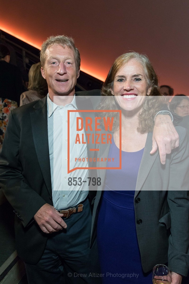 Tom Steyer, Kat Taylor, CALIFORNIA ACADEMY OF SCIENCES - Big Bang Gala 2015, US, April 23rd, 2015,Drew Altizer, Drew Altizer Photography, full-service agency, private events, San Francisco photographer, photographer california