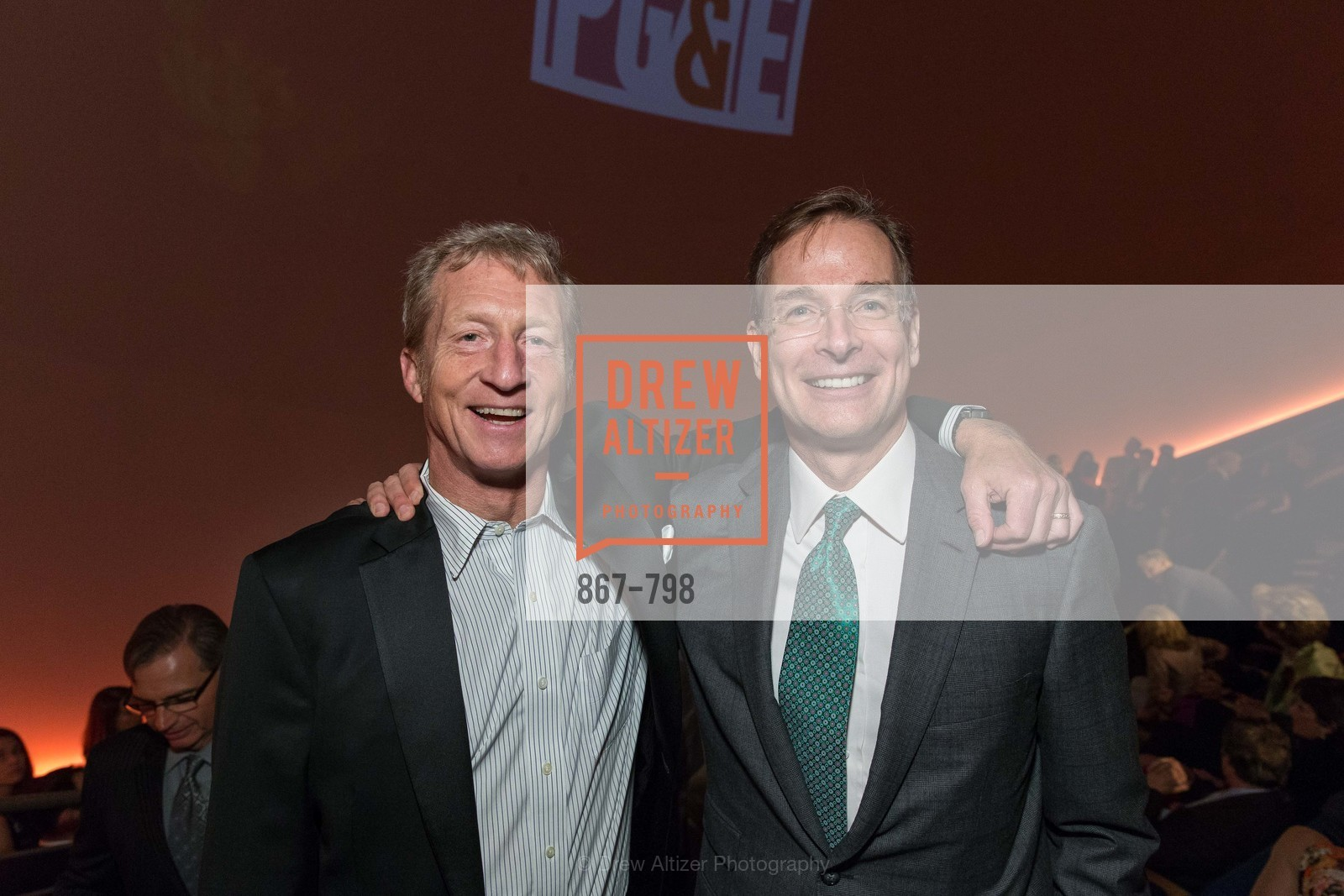 Tom Steyer, John Atwater, CALIFORNIA ACADEMY OF SCIENCES - Big Bang Gala 2015, US, April 24th, 2015,Drew Altizer, Drew Altizer Photography, full-service agency, private events, San Francisco photographer, photographer california