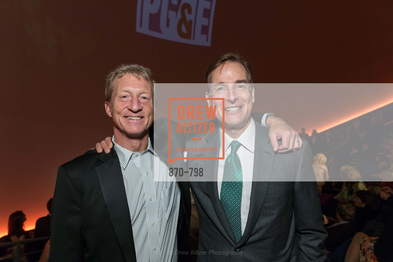 Tom Steyer, John Atwater, CALIFORNIA ACADEMY OF SCIENCES - Big Bang Gala 2015, US, April 23rd, 2015,Drew Altizer, Drew Altizer Photography, full-service agency, private events, San Francisco photographer, photographer california