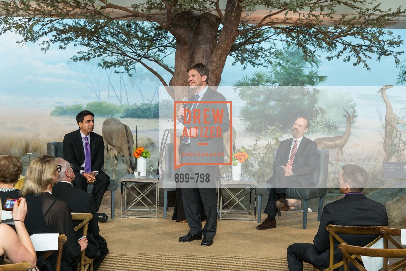 Sal Khan, Bill Duhamel, Adam Messinger, CALIFORNIA ACADEMY OF SCIENCES - Big Bang Gala 2015, US, April 23rd, 2015,Drew Altizer, Drew Altizer Photography, full-service agency, private events, San Francisco photographer, photographer california