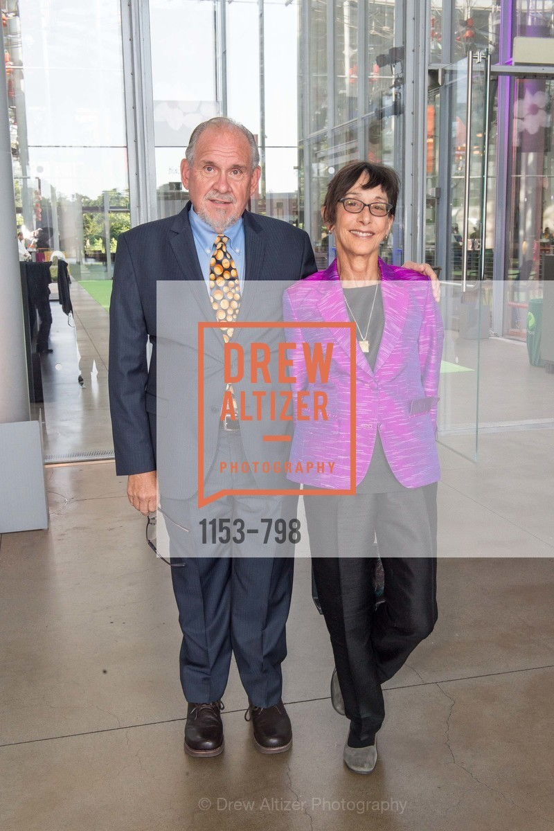 Larry Brilliant, Girija Brilliant, CALIFORNIA ACADEMY OF SCIENCES - Big Bang Gala 2015, US, April 24th, 2015