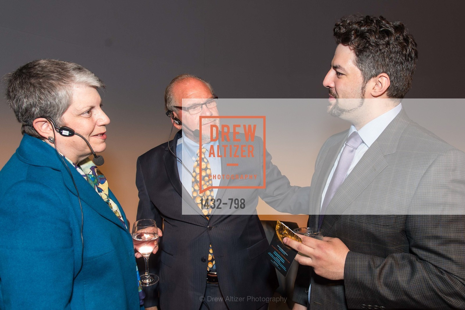 Janet Napolitano, Larry Brilliant, CALIFORNIA ACADEMY OF SCIENCES - Big Bang Gala 2015, US, April 24th, 2015,Drew Altizer, Drew Altizer Photography, full-service agency, private events, San Francisco photographer, photographer california