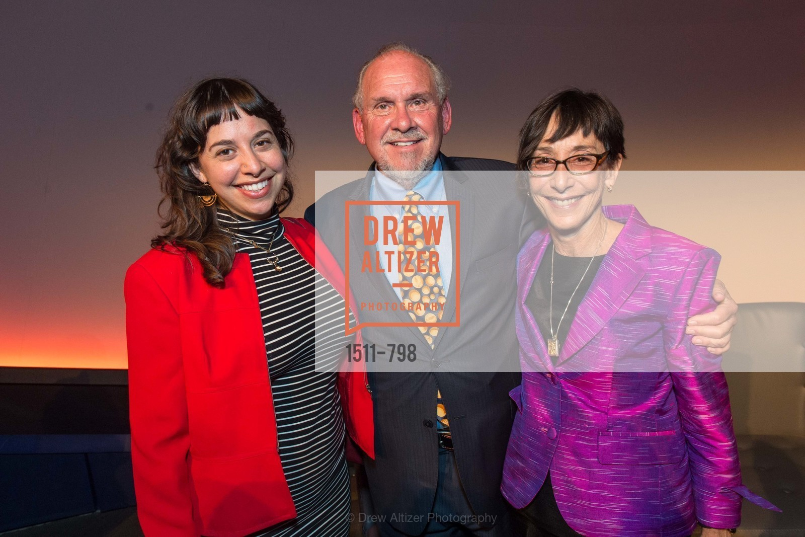 Iris Brilliant, Larry Brilliant, Girija Brilliant, CALIFORNIA ACADEMY OF SCIENCES - Big Bang Gala 2015, US, April 23rd, 2015,Drew Altizer, Drew Altizer Photography, full-service agency, private events, San Francisco photographer, photographer california