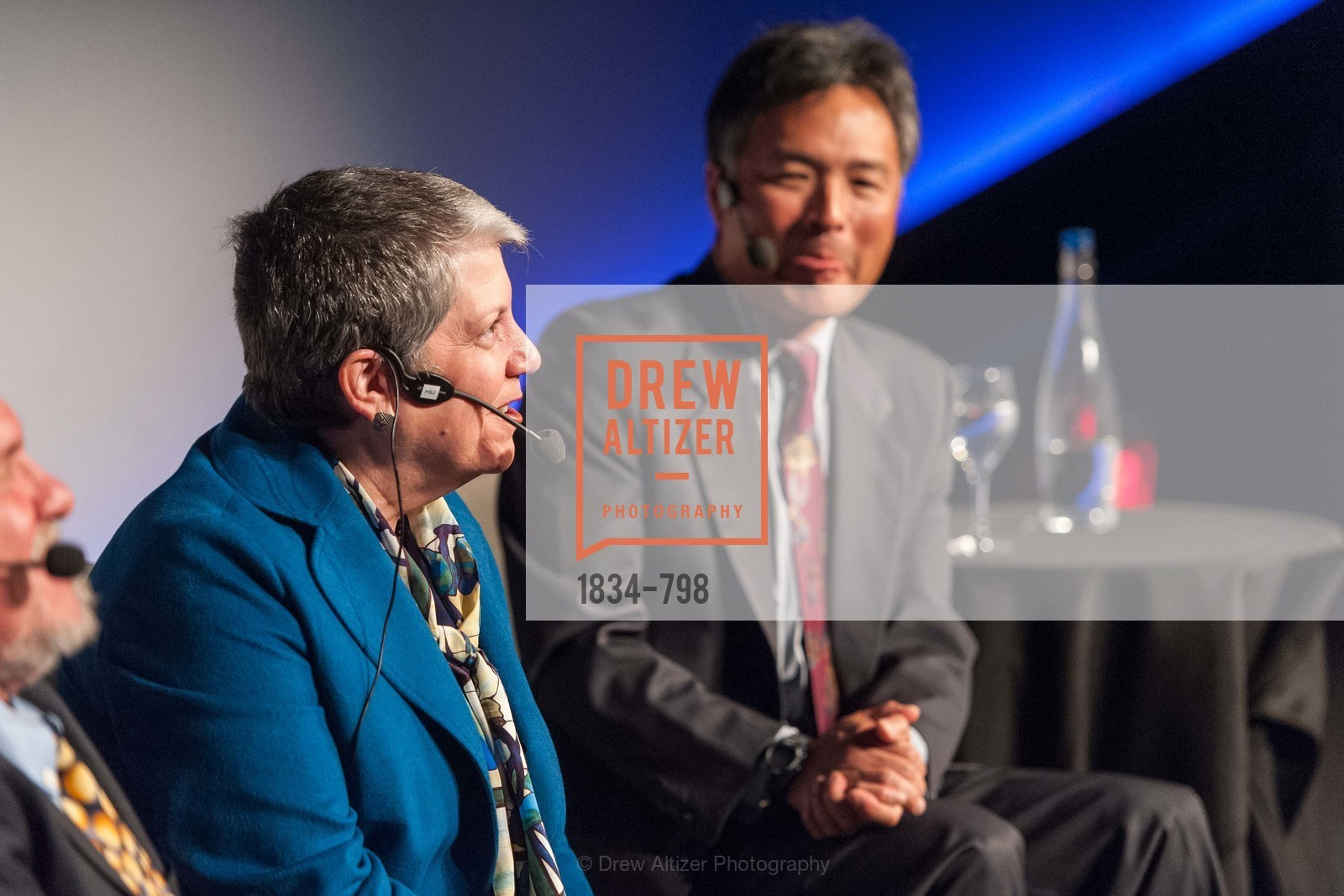 Janet Napolitano, Milton Chen, CALIFORNIA ACADEMY OF SCIENCES - Big Bang Gala 2015, US, April 24th, 2015,Drew Altizer, Drew Altizer Photography, full-service agency, private events, San Francisco photographer, photographer california
