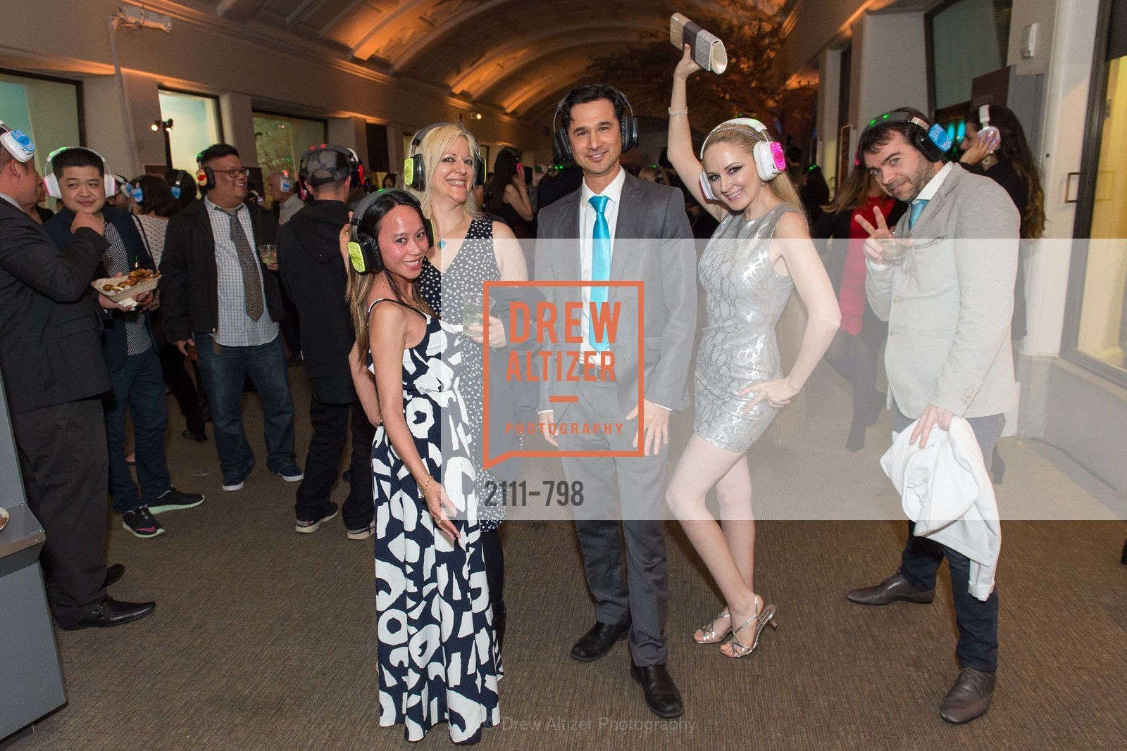Jeannie Tang, Sterling Nagamura, Shannyn Bessoni, Ann Pite, CALIFORNIA ACADEMY OF SCIENCES - Big Bang Gala 2015, US, April 24th, 2015,Drew Altizer, Drew Altizer Photography, full-service agency, private events, San Francisco photographer, photographer california