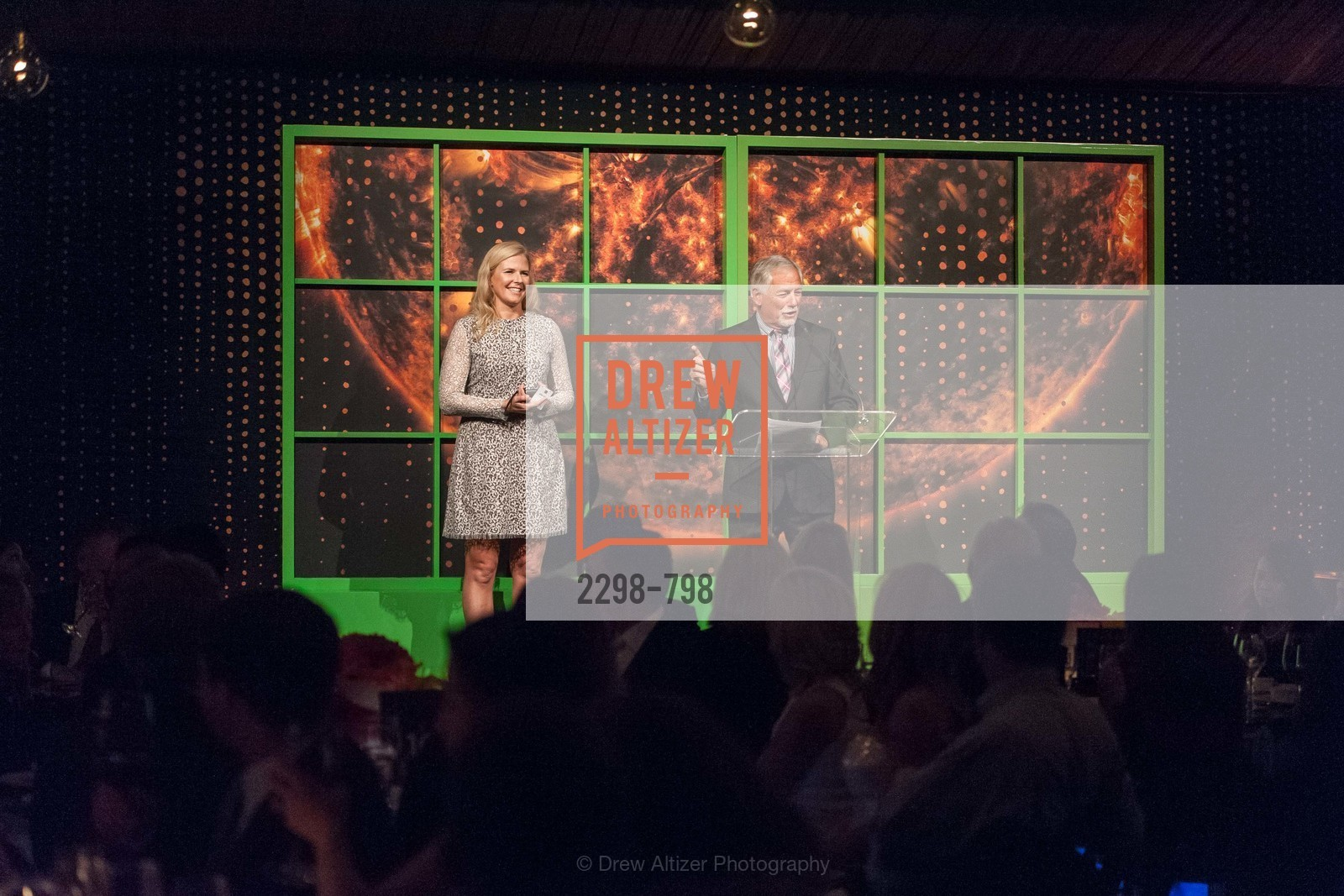 Virginia Tusher, Mark Buell, CALIFORNIA ACADEMY OF SCIENCES - Big Bang Gala 2015, US, April 23rd, 2015,Drew Altizer, Drew Altizer Photography, full-service agency, private events, San Francisco photographer, photographer california