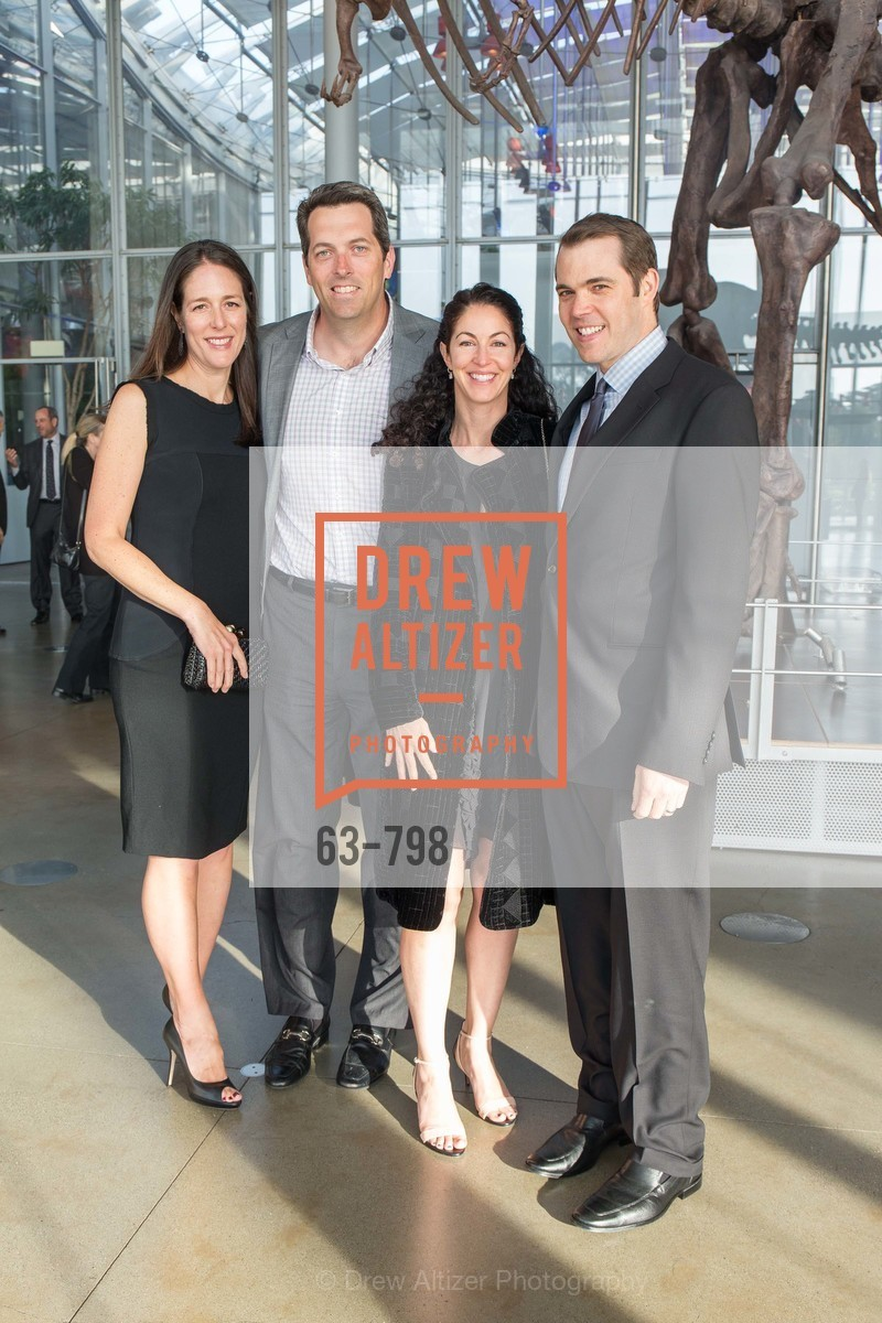 Lisa Tarter, Sean Carroll, Dalynn May, Chris Ferro, CALIFORNIA ACADEMY OF SCIENCES - Big Bang Gala 2015, US, April 23rd, 2015,Drew Altizer, Drew Altizer Photography, full-service agency, private events, San Francisco photographer, photographer california