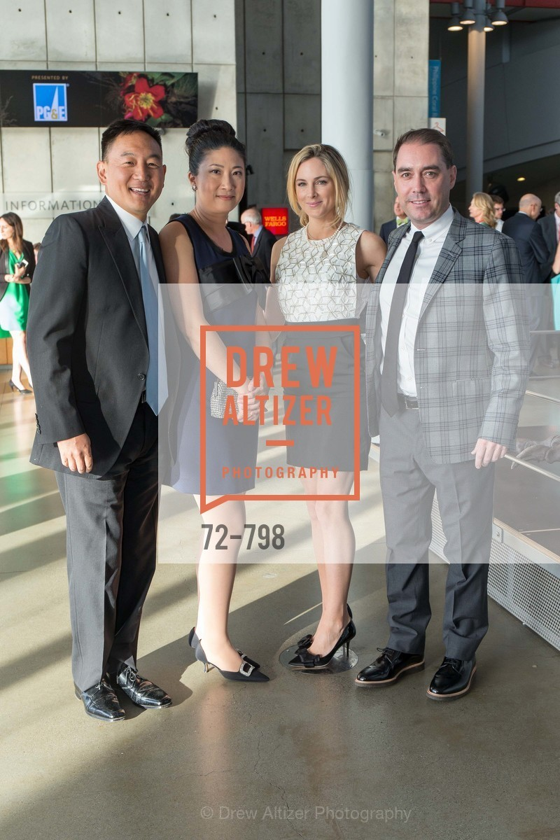 George Pan, Miranda Pan, Michelle Wilson, Peter Wilson, CALIFORNIA ACADEMY OF SCIENCES - Big Bang Gala 2015, US, April 23rd, 2015,Drew Altizer, Drew Altizer Photography, full-service agency, private events, San Francisco photographer, photographer california