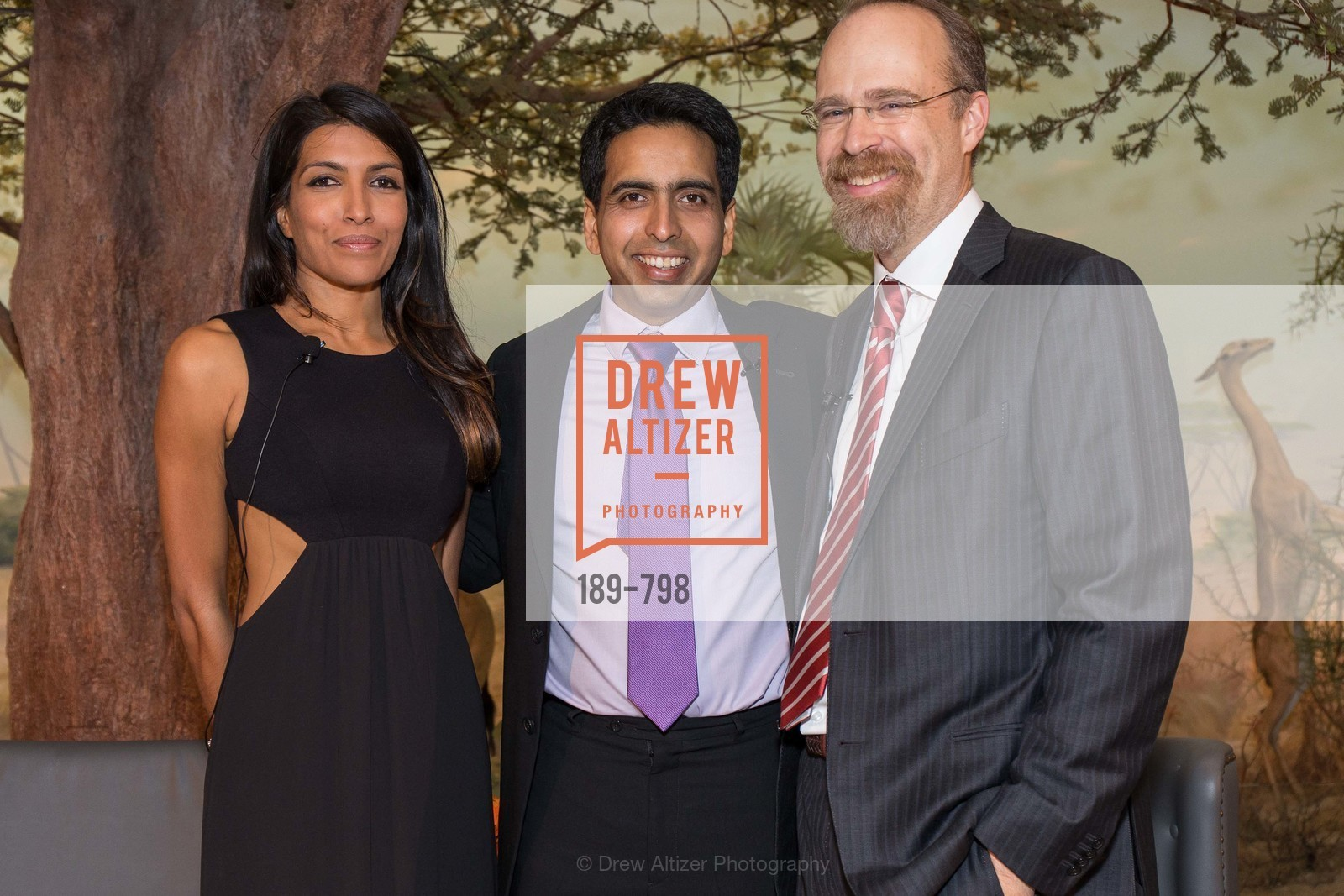 Leila Janah, Sal Khan, Adam Messinger, CALIFORNIA ACADEMY OF SCIENCES - Big Bang Gala 2015, US, April 23rd, 2015,Drew Altizer, Drew Altizer Photography, full-service agency, private events, San Francisco photographer, photographer california