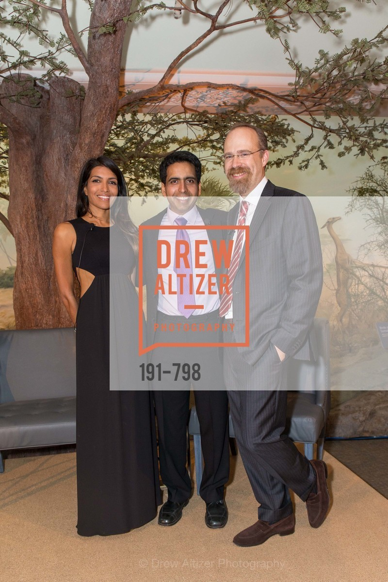 Leila Janah, Sal Khan, Adam Messinger, CALIFORNIA ACADEMY OF SCIENCES - Big Bang Gala 2015, US, April 24th, 2015,Drew Altizer, Drew Altizer Photography, full-service agency, private events, San Francisco photographer, photographer california