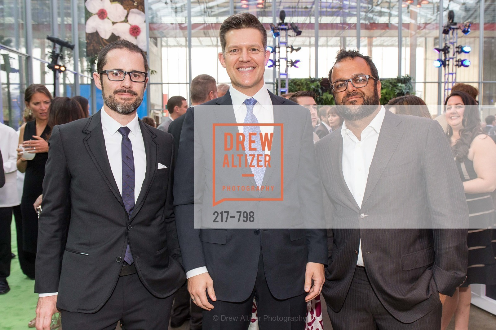 Evan Williams, Roelof Botha, Samir Kaul, CALIFORNIA ACADEMY OF SCIENCES - Big Bang Gala 2015, US, April 23rd, 2015,Drew Altizer, Drew Altizer Photography, full-service agency, private events, San Francisco photographer, photographer california
