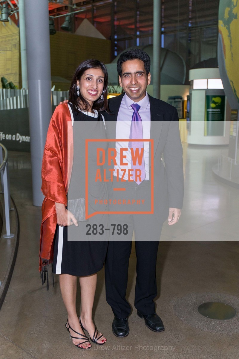 Umaima Marvi, Sal Khan, CALIFORNIA ACADEMY OF SCIENCES - Big Bang Gala 2015, US, April 24th, 2015,Drew Altizer, Drew Altizer Photography, full-service agency, private events, San Francisco photographer, photographer california